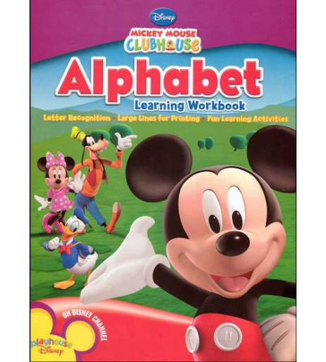 Alphabet Learning Workbook