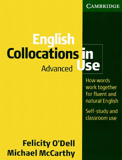 English Collocations in Use - Sách từ vựng IELTS về collocation