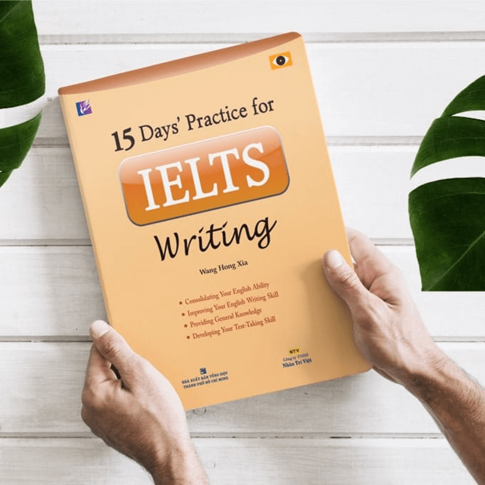 sách học IELTS Writing 15 Days' Practice For IELTS Writing