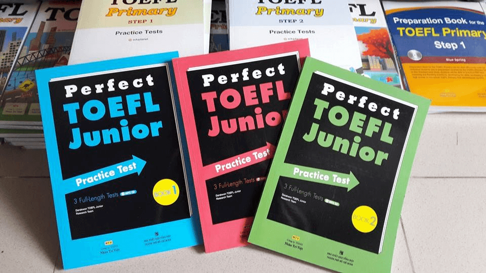 Sách Perfect TOEFL Junior Practice Test